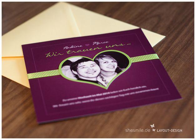 Einladungskarten   Hochzeit Einladungskarten, PDF Zum Selberdrucken   Ein  Designerstück Von Shesmile Bei DaWanda
