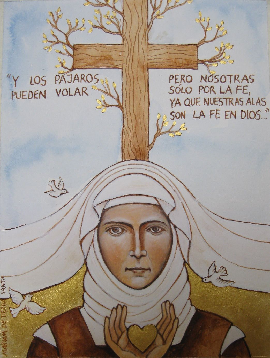 maria of jesus crucified