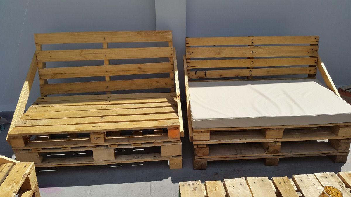 Resultado de imagen para como hacer sillones con palet muebles pallet y ideas - Hacer sillones con palets ...