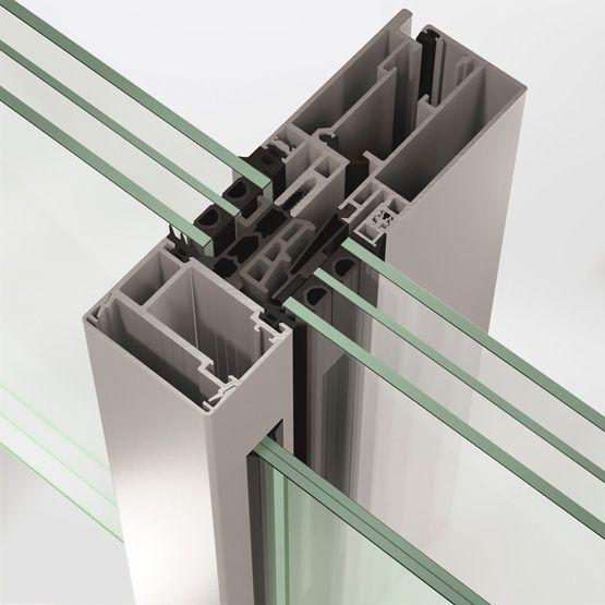 Aluminium Continuous Facade System Schuco Fws 60 Cv By Schuco
