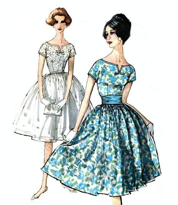 Simplicity 3391 Mad Men era vintage early 1960s by ...