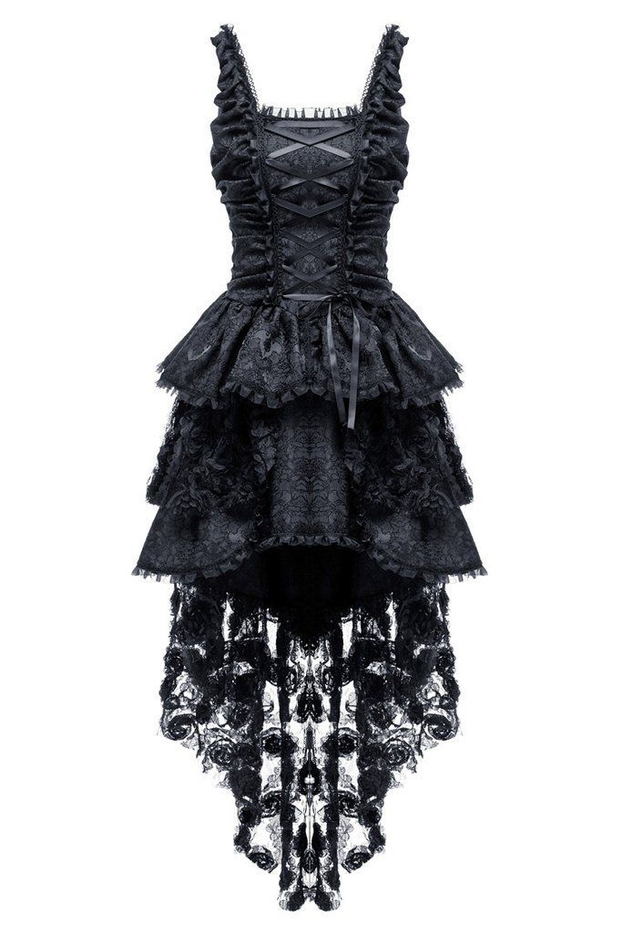 726830c28eb DW069 Elegant gothic jacquard fishtail dress with three-dimensional  flowers(price is not including petticoat)