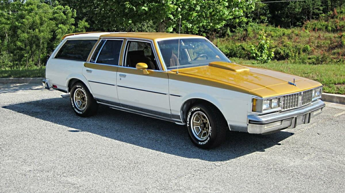 79 Oldsmobile Cutlass Wagon In Hurst Olds Livery