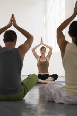 bikram yoga poses postures  livestrong  bikram yoga
