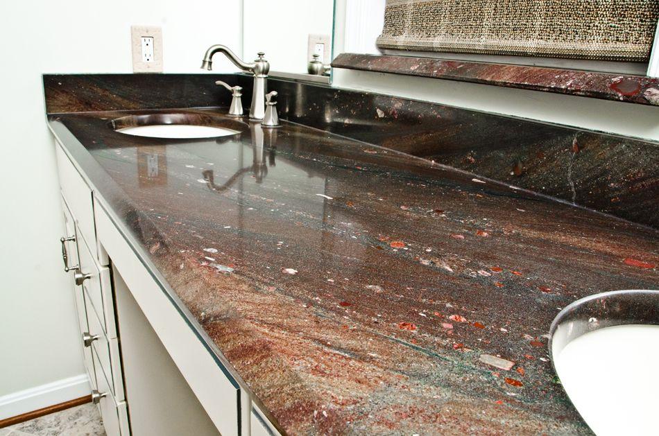 Extreme Beveled Edge Design Kitchen Countertops