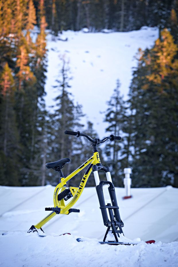 The Most Affordable Full Suspension Ski Bike Crowdfunding Is A