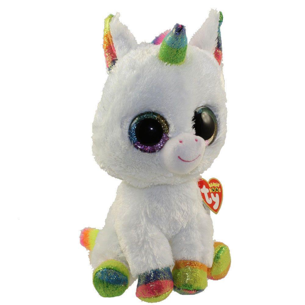 Current 438  Ty Beanie Boos 9 Medium Pixy The Unicorn Stuffed Animal Plush  Mwmt S Heart Tags -  BUY IT NOW ONLY   10.95 on  eBay  current  beanie   medium ... 8d4db8238a77