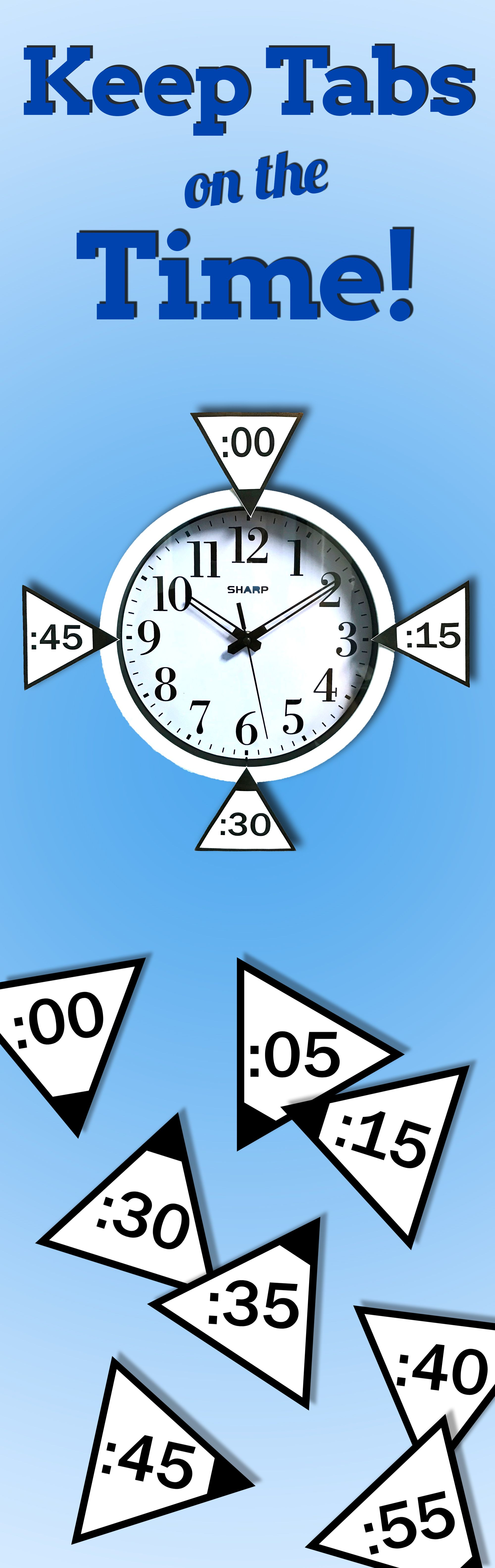 Tick Tock Check Out These Super Fun Clock Tabs For Your