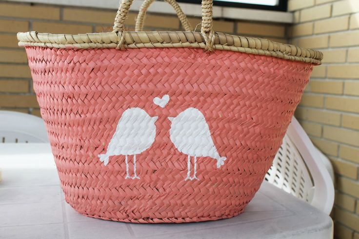 todo tipo de ideas para decorar cestas y cestos de mimbre - Como Decorar Cestas De Mimbre