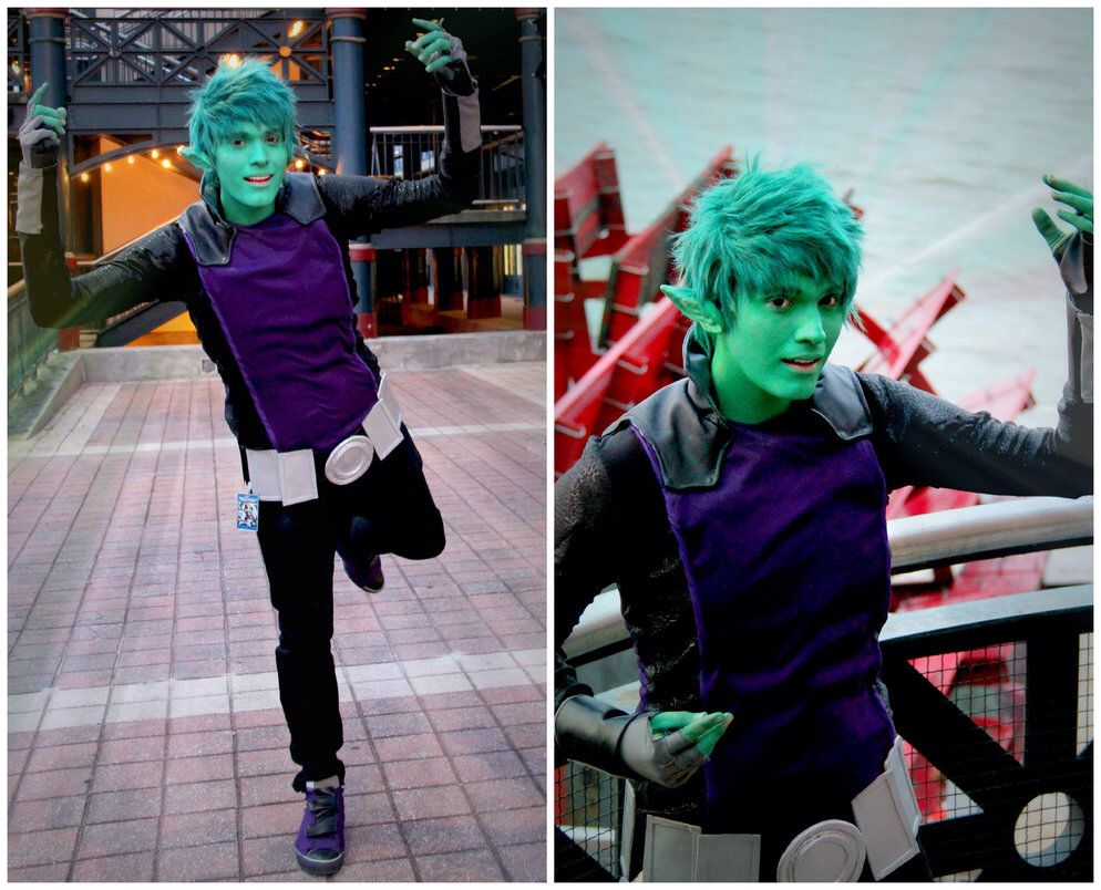Beast Boy Teen Titans Cosplay - Porn Images  Video-6345