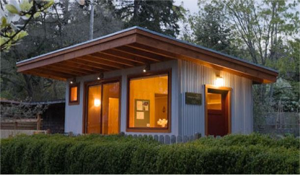 Rolling Bay Land Co s 200 sq ft cottage office