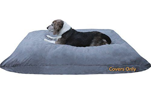 Dog Bed Covers Do It Yourself Diy Pet Bed Pillow Duvet Suede