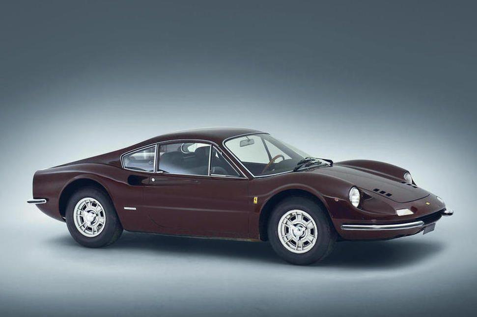 1969 FERRARI DINO 206 GT Coachwork by Carrozzeria Pininfarina/Scaglietti Chassis no. 00338 Engine no. 00338