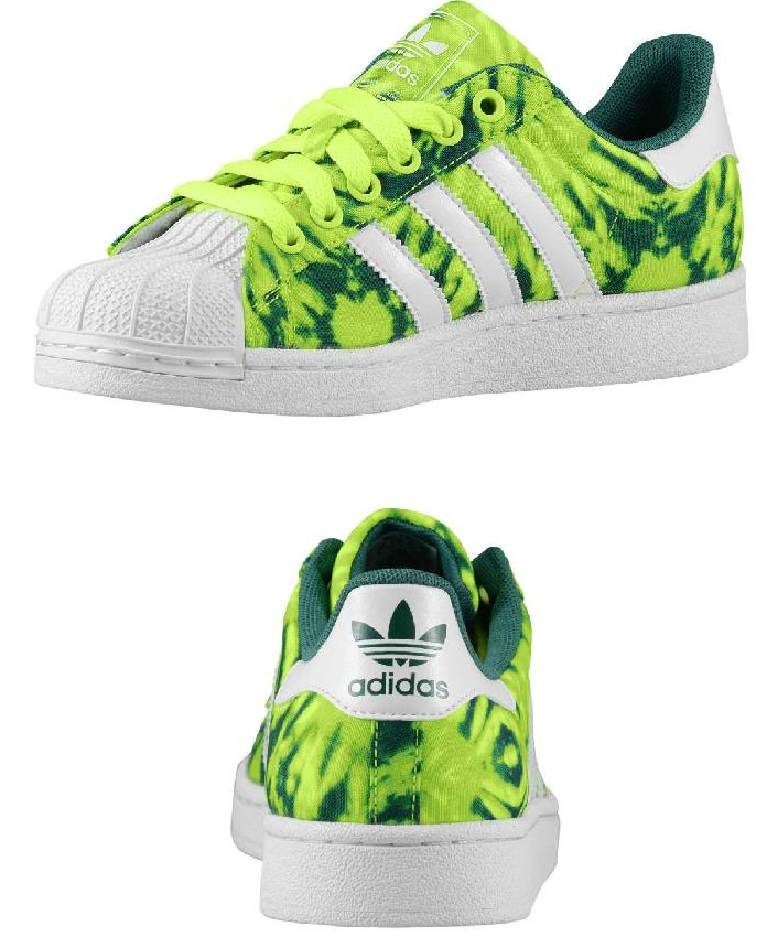 Adidas Originali Superstar 2 Sport J Giallo Bianco Verde Sport 2 Patrimonio 074b3d