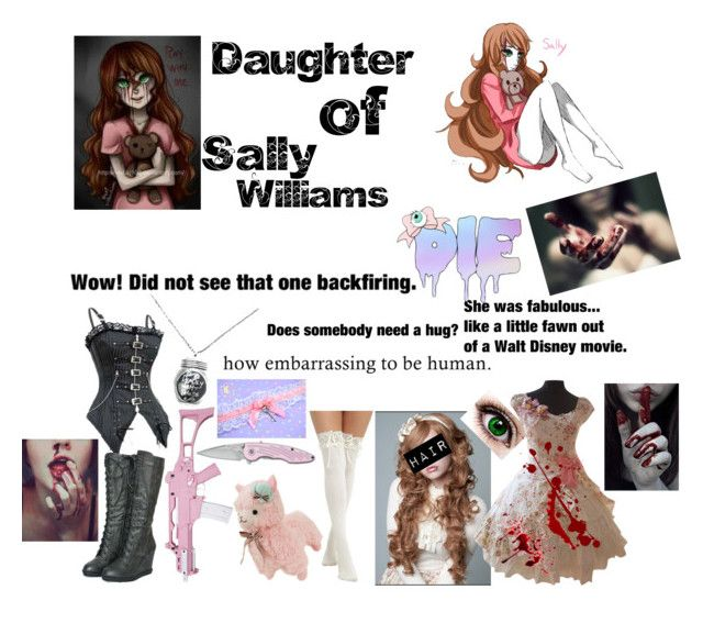 """Ashley Williams {Daughter Of Sally Williams}"" by marythedemon ❤ liked on Polyvore featuring Hot Topic, RIFLE, Impulse and WALL"