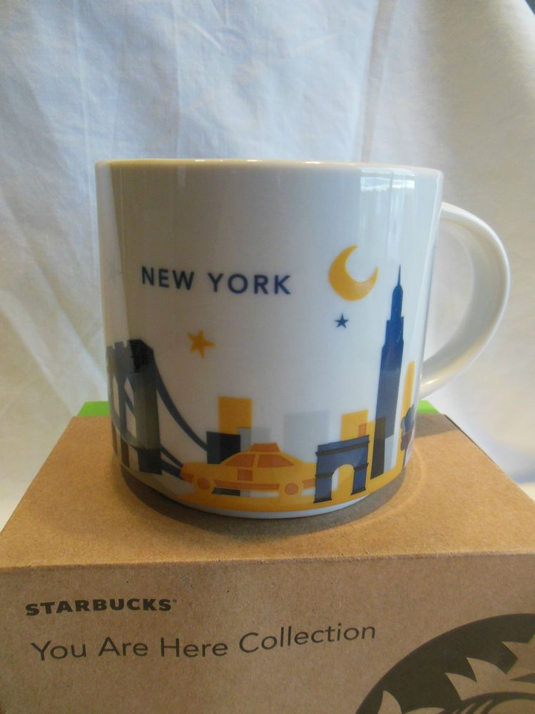 new starbucks you are here collection new york coffee mug 14 oz starbucks fan here are some. Black Bedroom Furniture Sets. Home Design Ideas