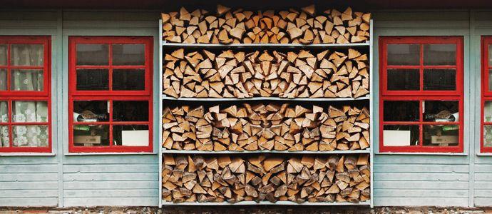 holzlagerung im garten - Google-Suche Brennholz-Aufbewahrung - brennholz lagern ideen wohnzimmer garten