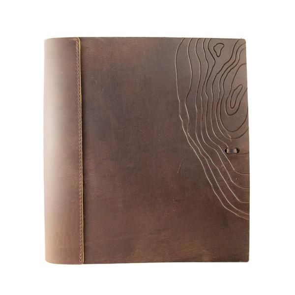 Soft Leather Three Ring Binder Special Edition