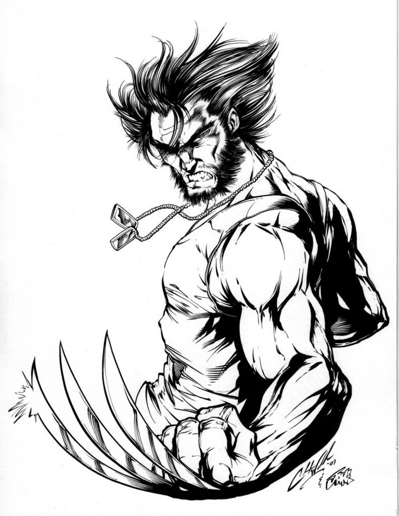 Free Printable Wolverine Coloring Pages For Kids Animal Coloring Pages Coloring Pages Coloring Pages For Kids