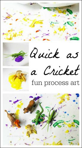 Fun Art For Kids Based On Quick As A Cricket Fun A Day Art For Kids Preschool Art Toddler Art