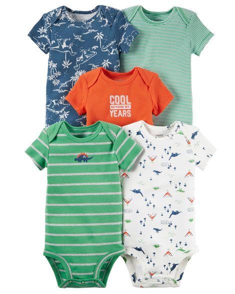 Brand New Carter/'s 5-Pack Short-Sleeve Tees 18 months