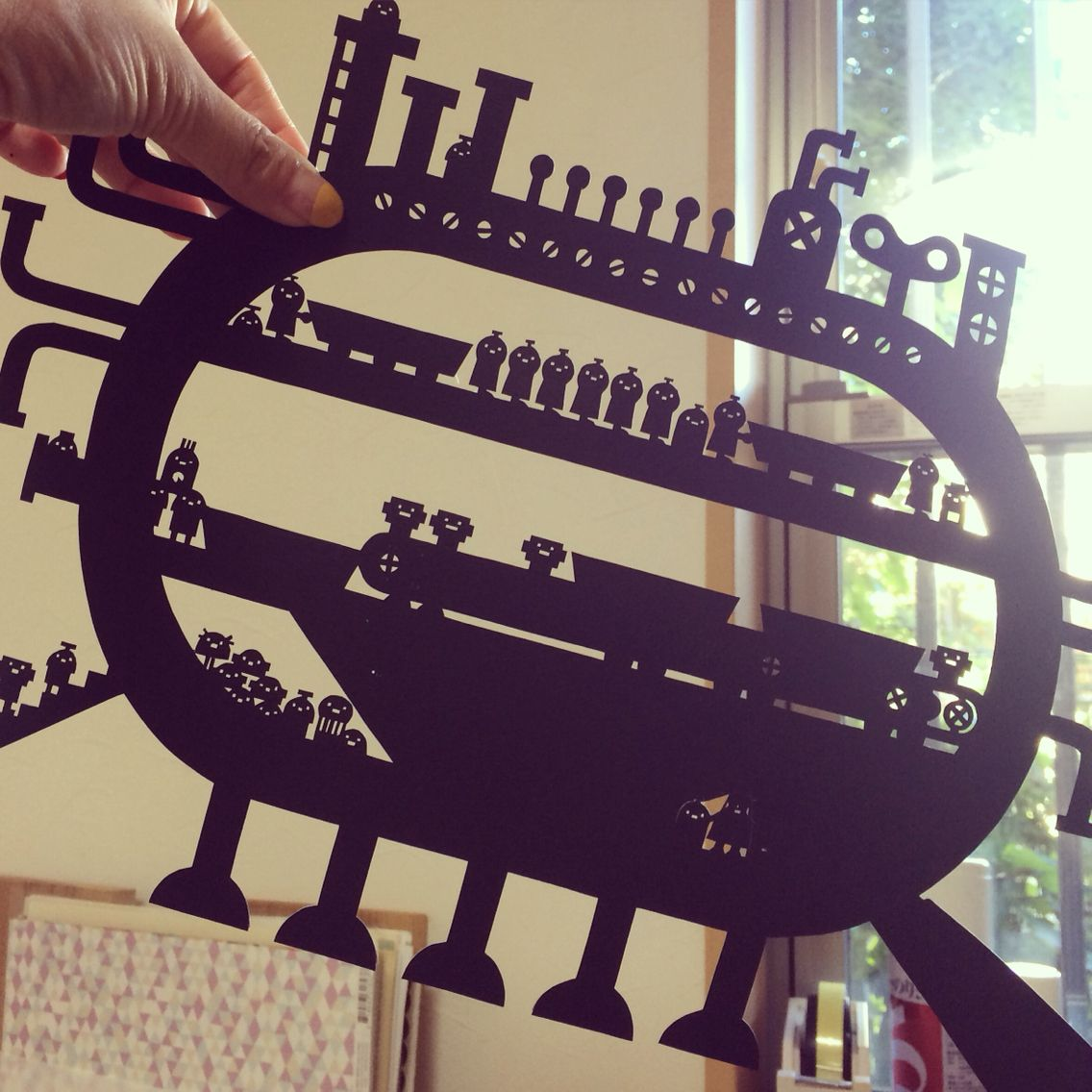 Paper cutting Factory