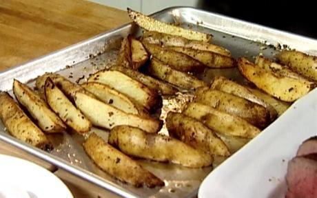 Baked potato wedges by Ina Garten (Potato) @FoodNetwork_UK