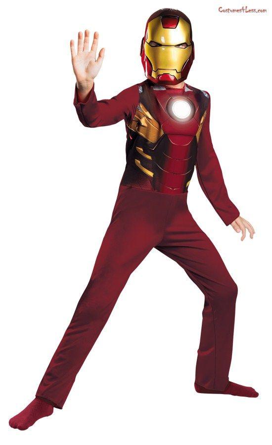 Iron Man Mark 7 Avengers Basic Child Costume Mark Man Iron Iron Man Kostume Kostum Junge Und Iron Man