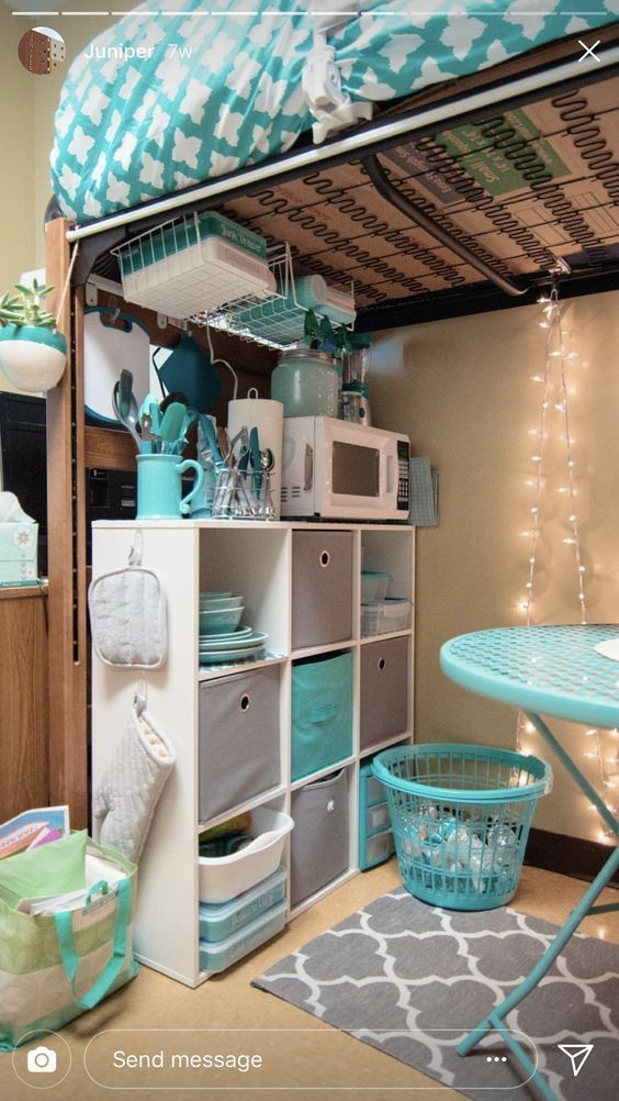 15 College Dorm Room Ideas For Freshman Year #girldorms
