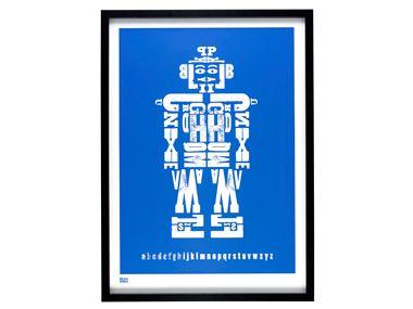 abc robot print