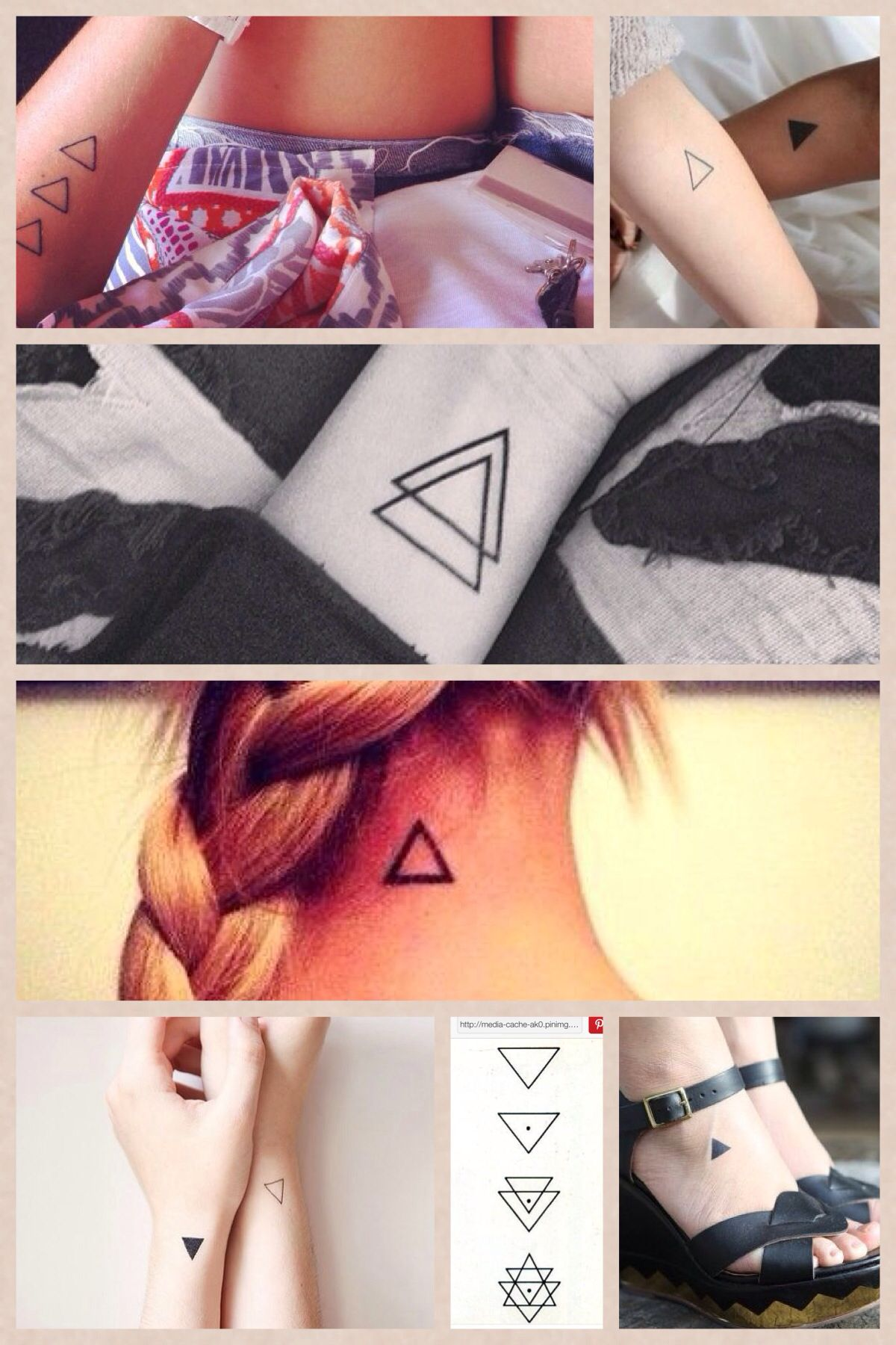 Triangle, representing the three of us!