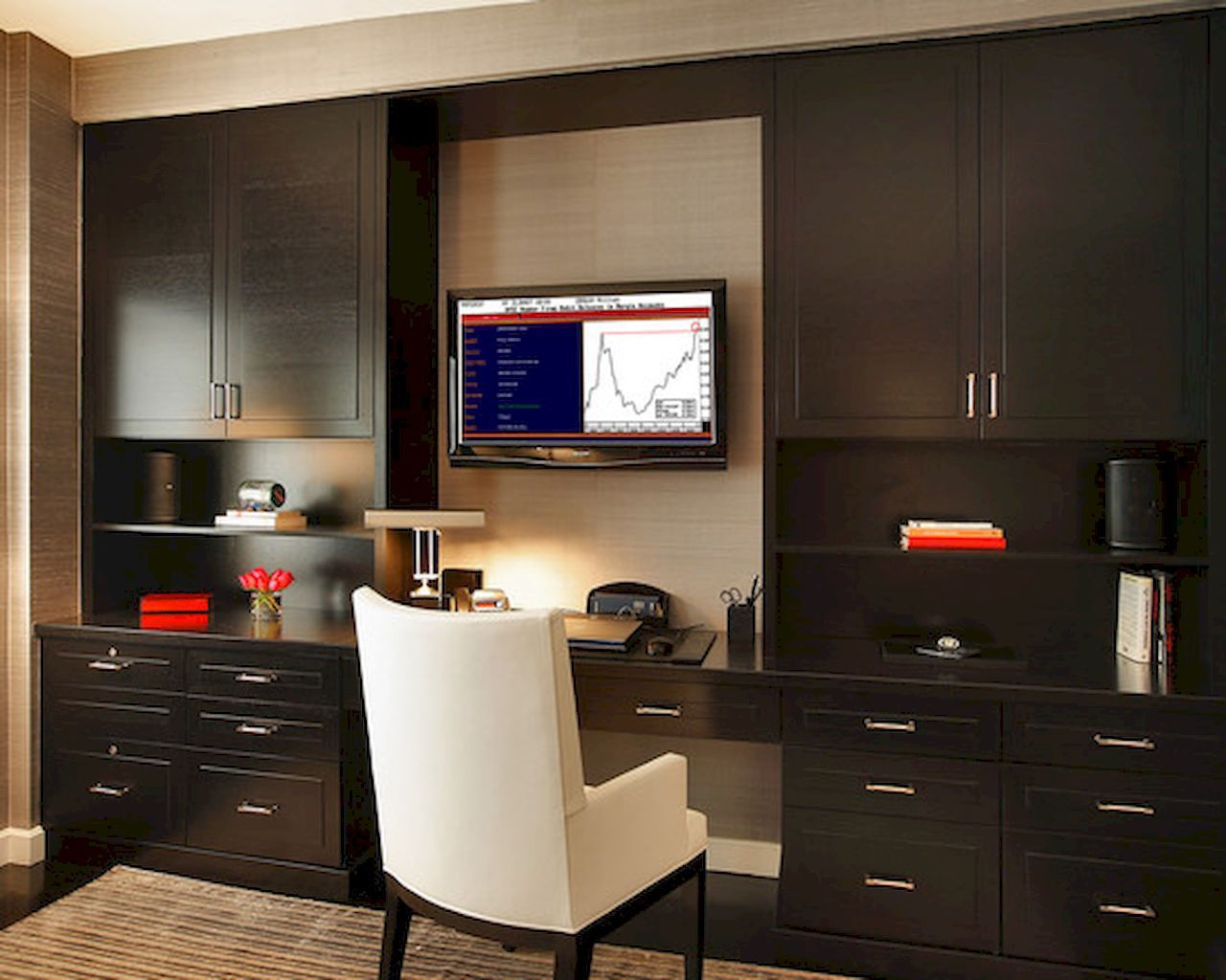 Home office interior ideas  best contemporary home office design ideas  office designs