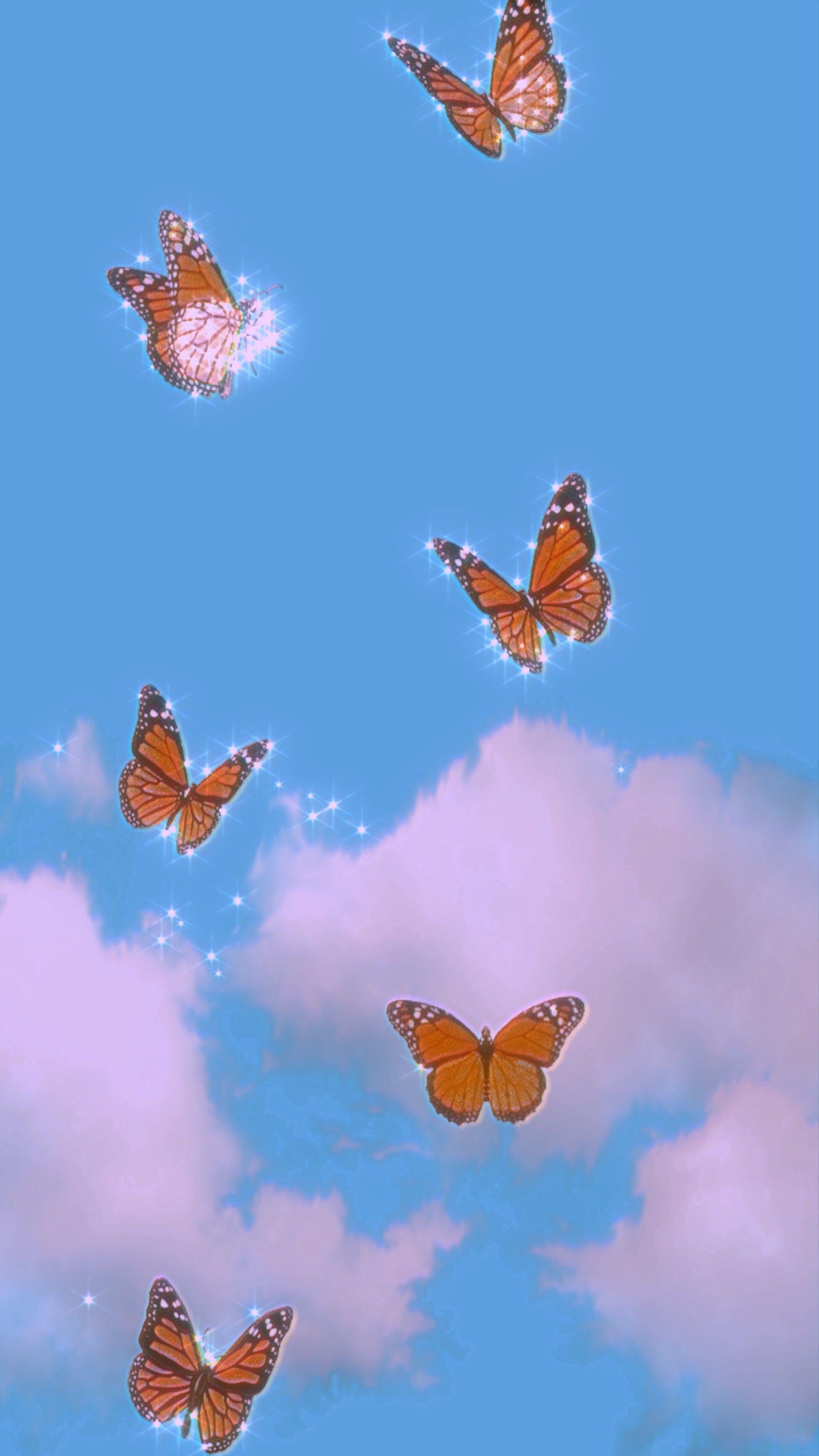 Butterfly Cellphone Wallpaper Backgrounds Iphone Wallpaper Tumblr Aesthetic Aesthetic Iphone Wallpaper