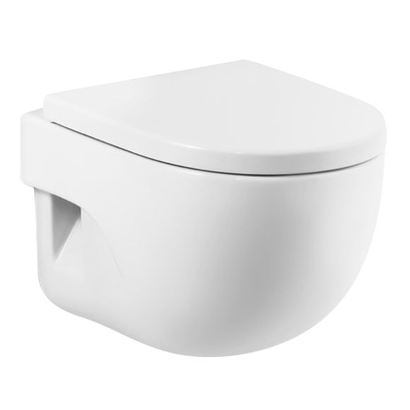 WC Con Salida Horizontal Roca Meridian Ref. 14741223   Leroy Merlin
