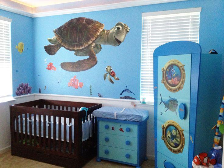 Finding Memo Themed Baby Room Nemo Nursery Finding Nemo Nursery Disney Themed Nursery