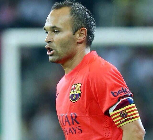 Iniesta #Barça