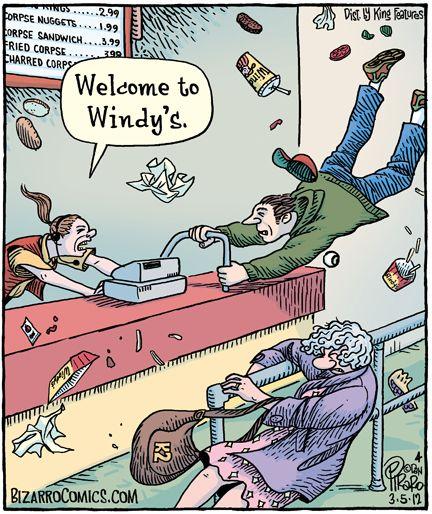 'Ello Windy. (Mick Dundee)