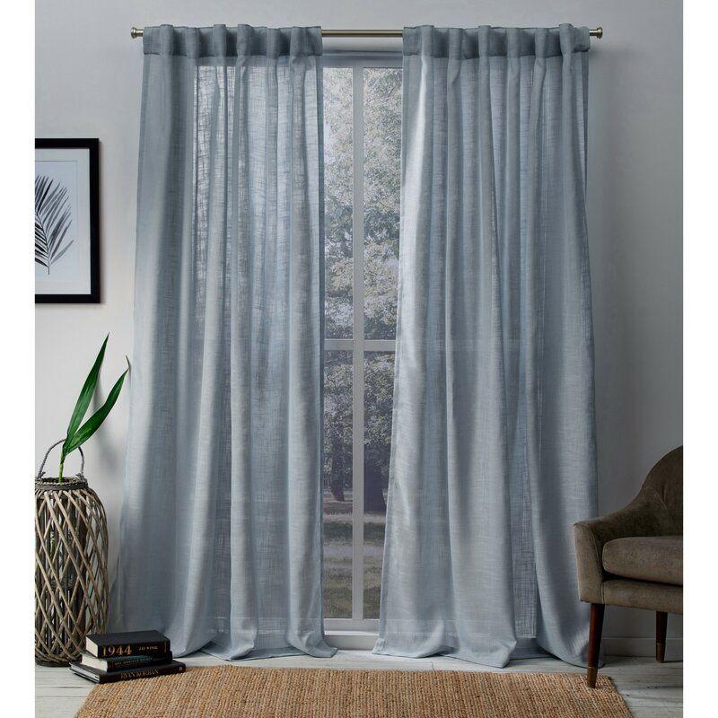 90da008a622d8c4bb715f47f37136e20 - Better Homes & Gardens Heathered Window Curtain Panel