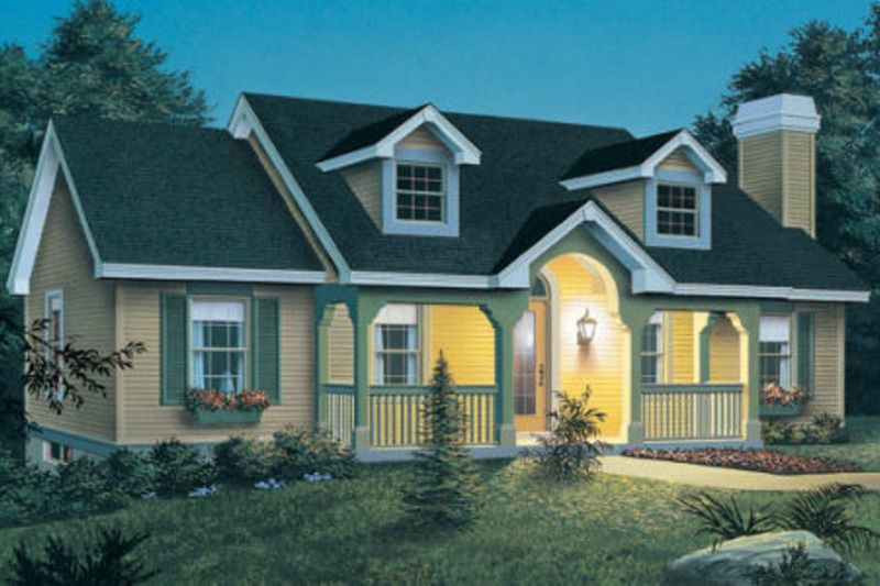 Cottage Style House Plan 3 Beds 2 Baths 1140 Sq Ft Plan 57 151 Ranch Style House Plans New England Cottage Cottage Style House Plans