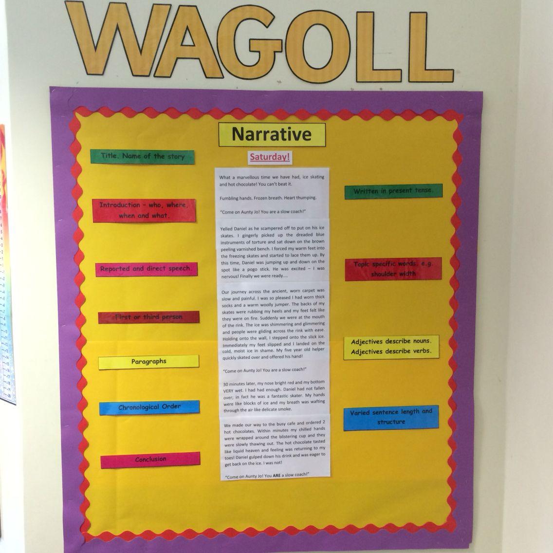 Narrative WAGOLL | Displays | Pinterest | Working wall, Classroom ...