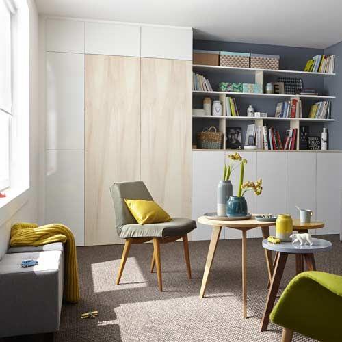 Etagère et meuble de rangement Spaceo interior Interior design - leroy merlin meuble salle de bain neo