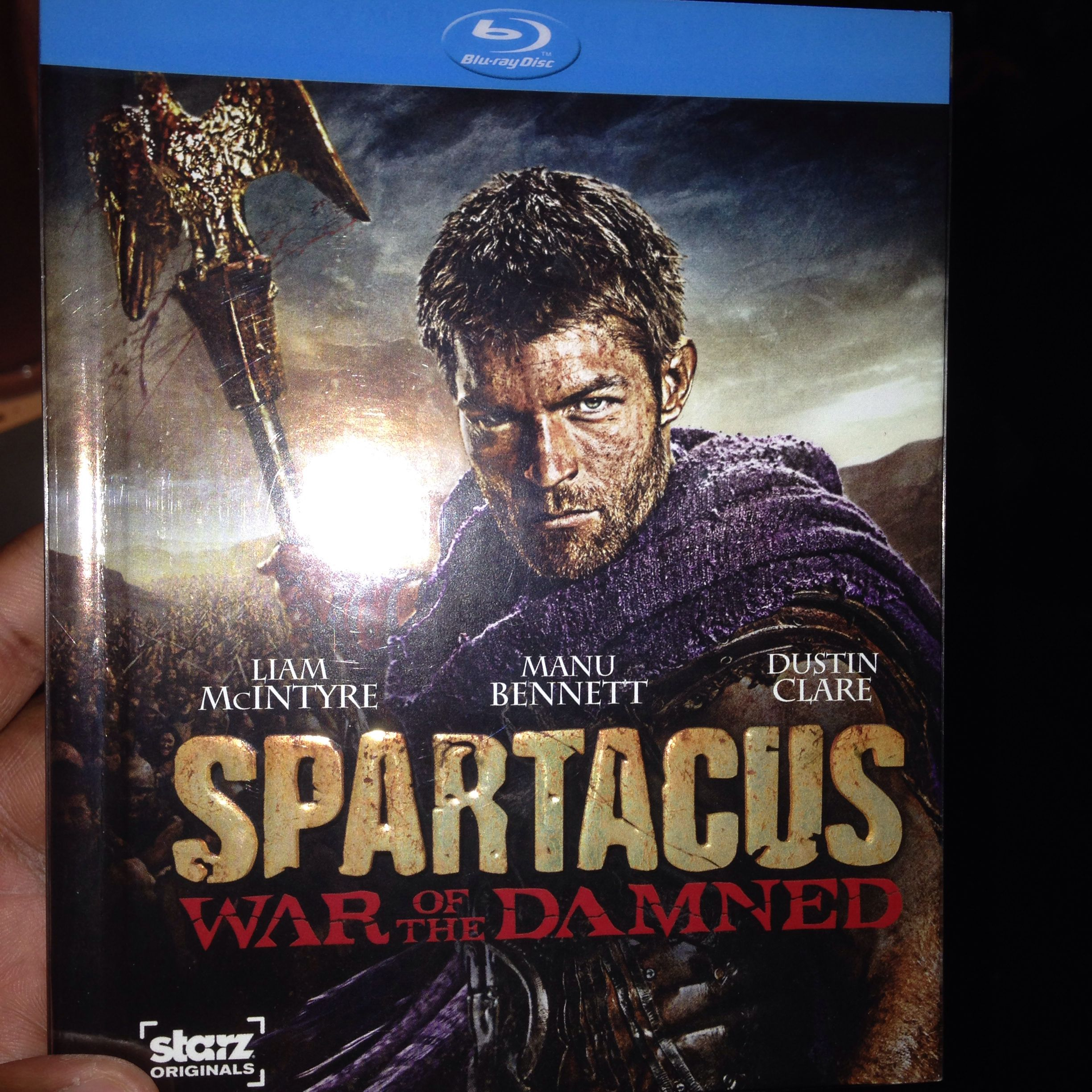 What should have been a genre show became one of the best on tv. I will miss Spartacus