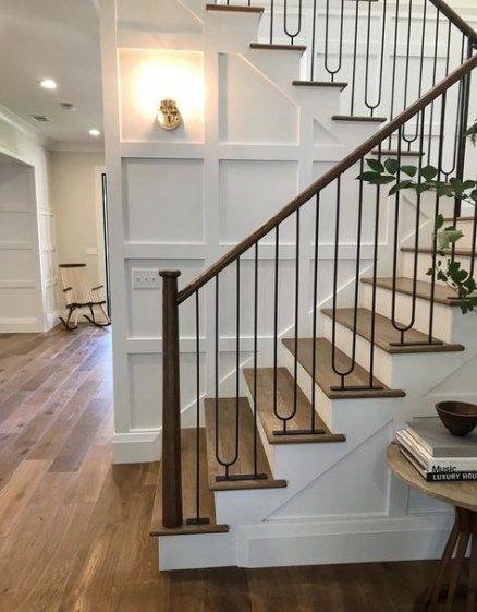 Best Farmhouse Stairs Railing Wrought Iron Ideas Farmhouse