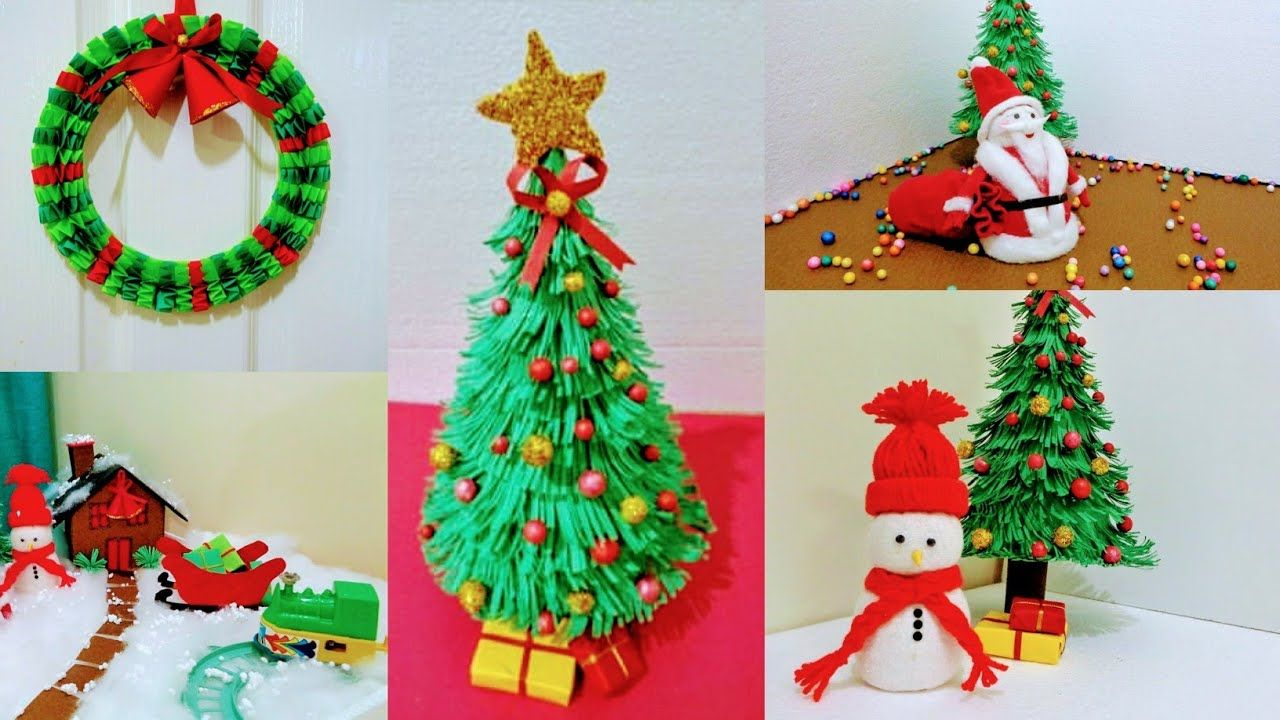 5 Easy Christmas Diy Craft For School Project Holiday