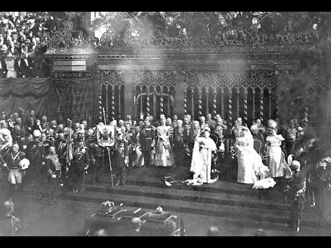 Inauguration Queen Wilhelmina 1898 - YouTube