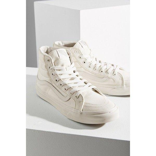 Vans Blanc Sk8-Hi Slim Sneaker