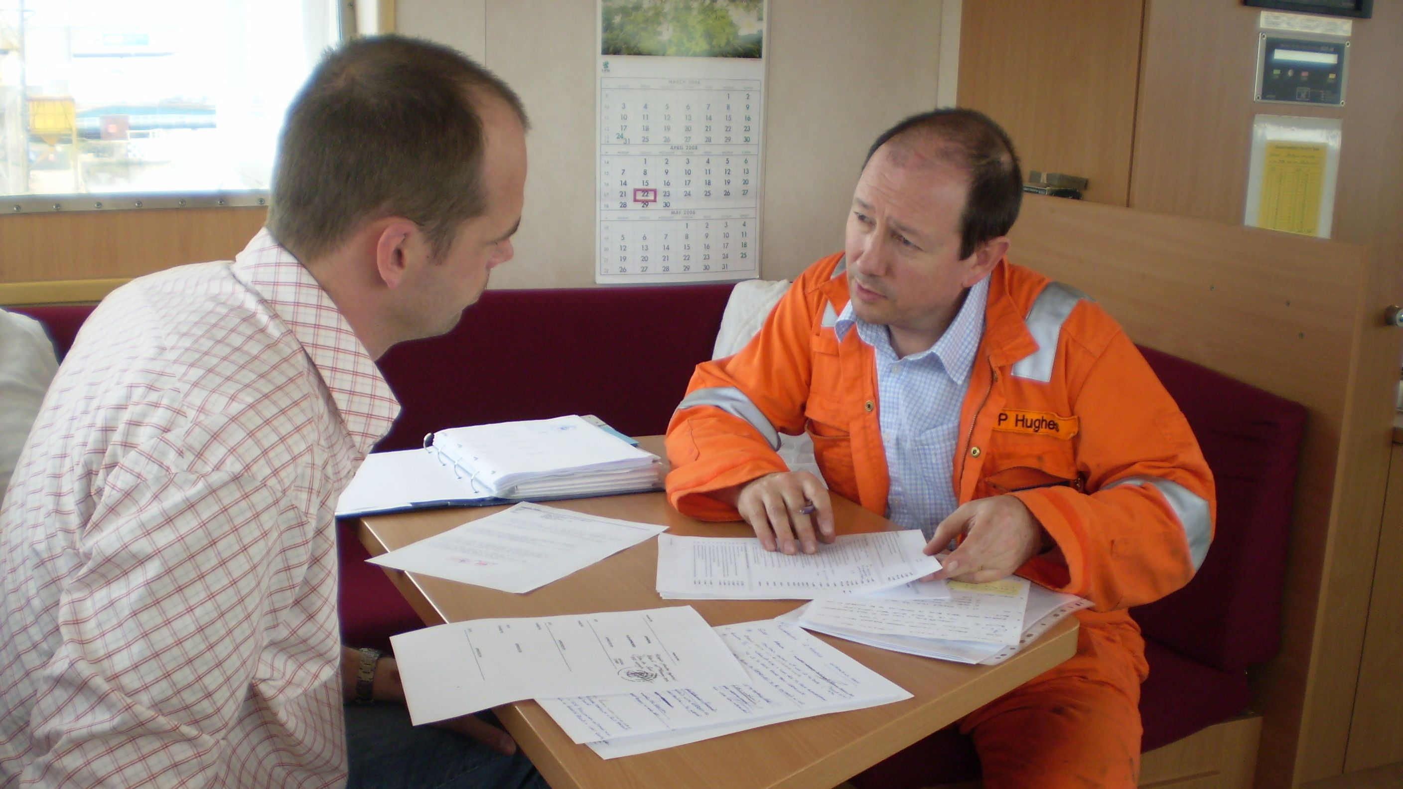 Insurance inspection company performs loss control