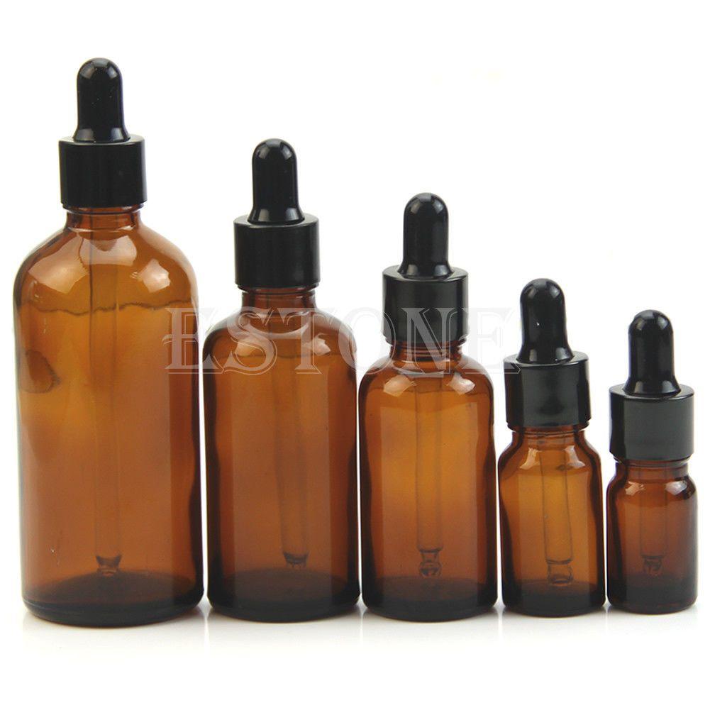 5ml 100ml Amber Glass Liquid Reagent Pipette Bottle Eye Drop Chubby Gorilla Botol Transparan 60 Ml 099 Aromatherapy Ebay