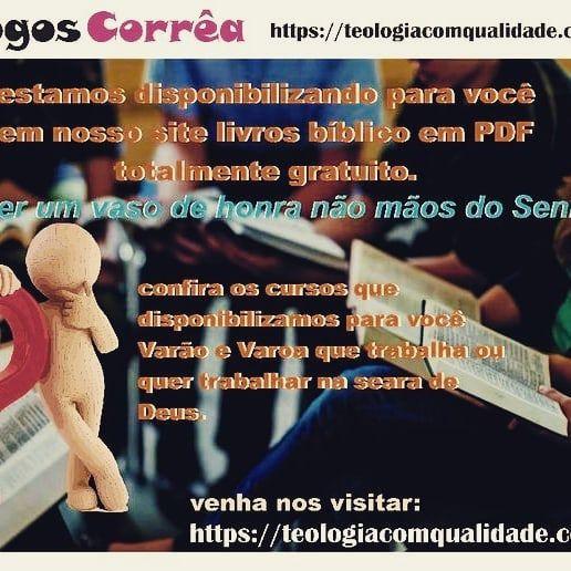 Pin Em Cursos De Teologia Ead