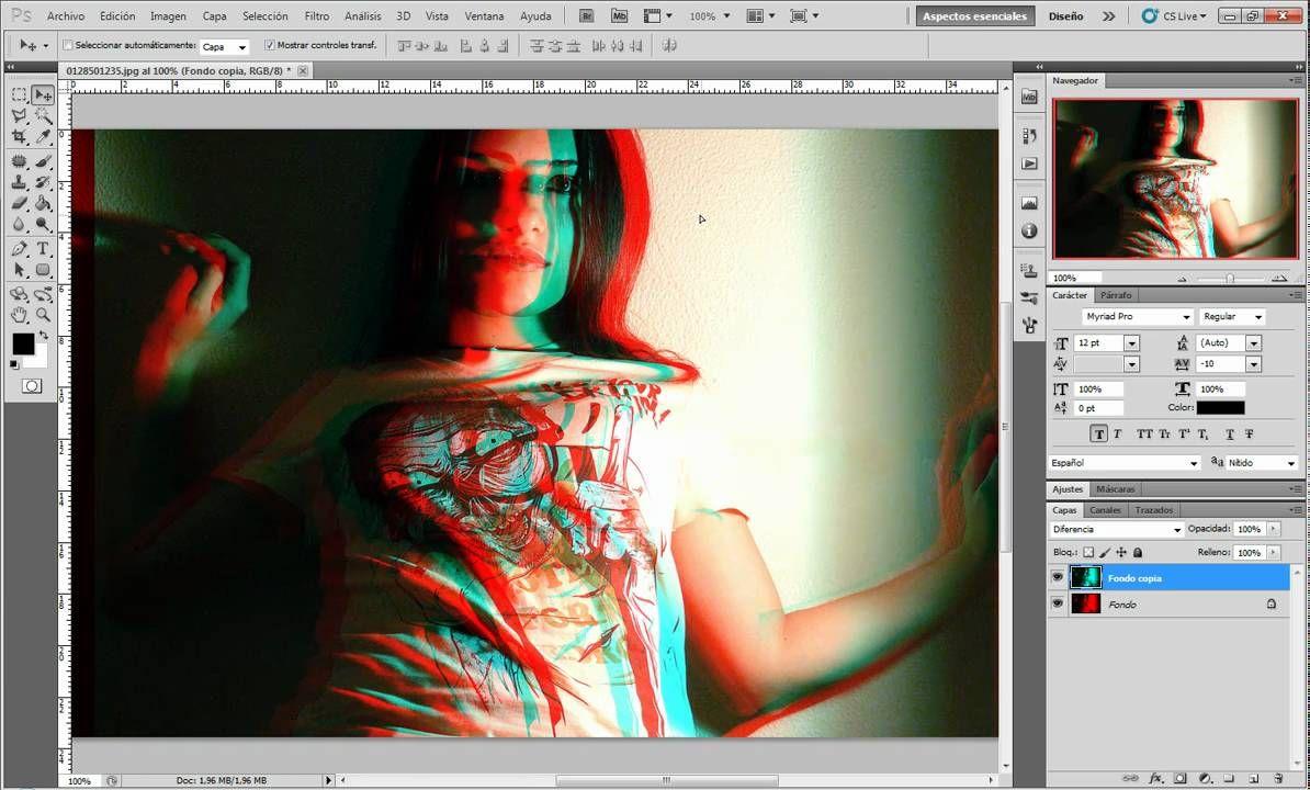 Tutorial crear imagen 3d con photoshop cs5 editar imagen tutorial crear imagen 3d con photoshop cs5 baditri Images